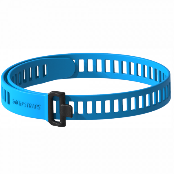 SoftTIE STRAPS 28/860 blue